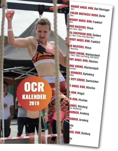 Hindernislauf Kalender OCR